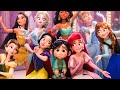 WRECK-IT RALPH 2 - Baby Moana, Frozen, Disney Princesses & BuzzTube Funny Scenes (2018) Best Moments