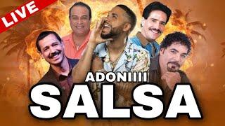 SALSA CLASICA VOL 6 🥁 SIN DESPERDICIO 😍❤️ MEZCLANDO EN VIVO DJ ADONI 🎤