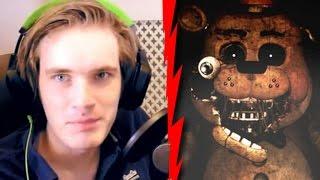 Pewdiepie VS Five Nights at Freddy