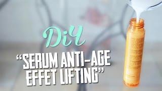 """♥DIY♥ : Sérum anti-âge effet """"lifting & peau de bébé"""""""