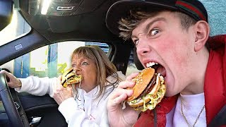 i went through as many drive thru s as possible in one hour it was shocking drive thru challenge