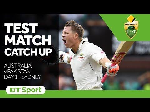 Australia v Pakistan Third Test  Day One Highlights   Test Match Catch Up New Flash Game