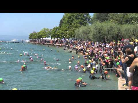 Triathlon Bardolino 2012 and CRANK-UP (SOCIAL NETWORK SPORTIVO)