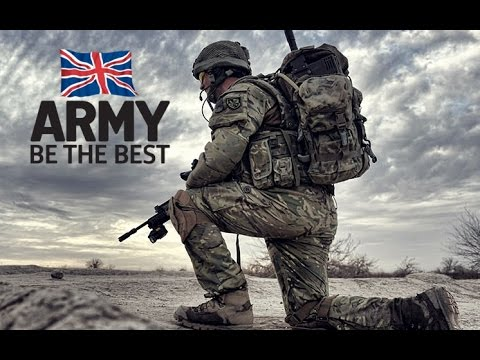 "British Army Regiments - ""Be The Best"" 