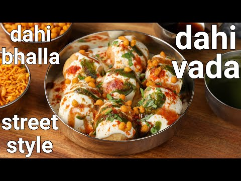 super soft & juicy dahi vada recipe – street style with tips & tricks | dahi bhalle recipe – hebbars