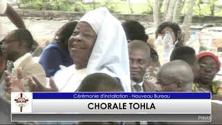 Installation nouveau Bureau - Chorale TOHLA
