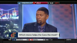 Which Move Helps The Cavs The Most? | NBA Countdown | Feb 9, 2018