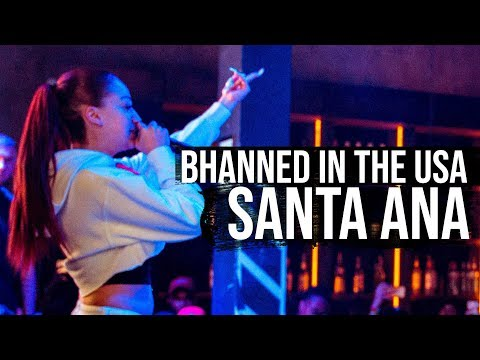 Bhad Bhabie 1st show ever - Bhanned In The USA Tour - Santa Ana, CA | Danielle Bregoli