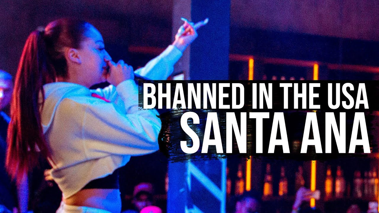 Bhad Bhabie 1st show ever - Bhanned In The USA Tour - Santa Ana, CA | Danielle Bregoli