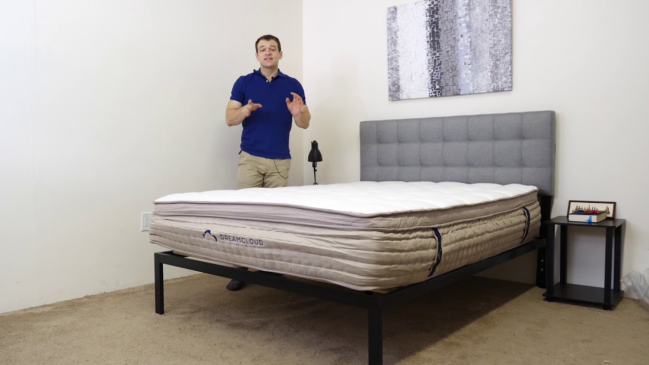DreamCloud Mattress Unboxing