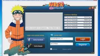 Naruto Online - Cracker Hack - (99999 Ryos, Cupons e Lingotes) 2017 Atualizado