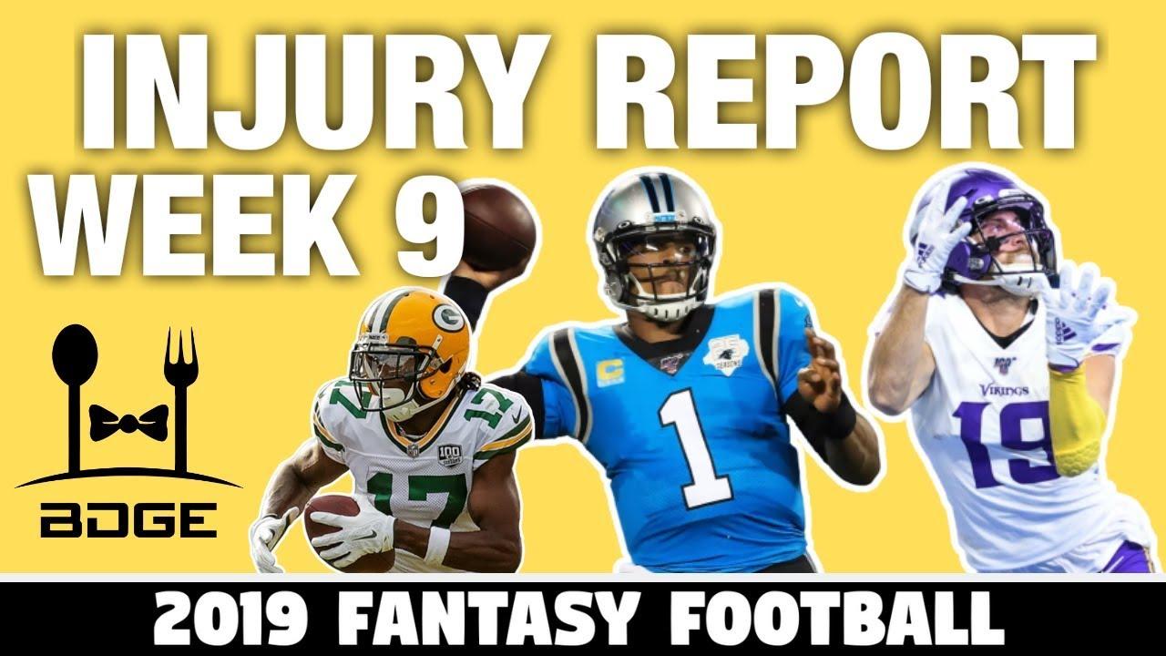 Fantasy Football Week 9 Injury Report: Patrick Mahomes, James ...