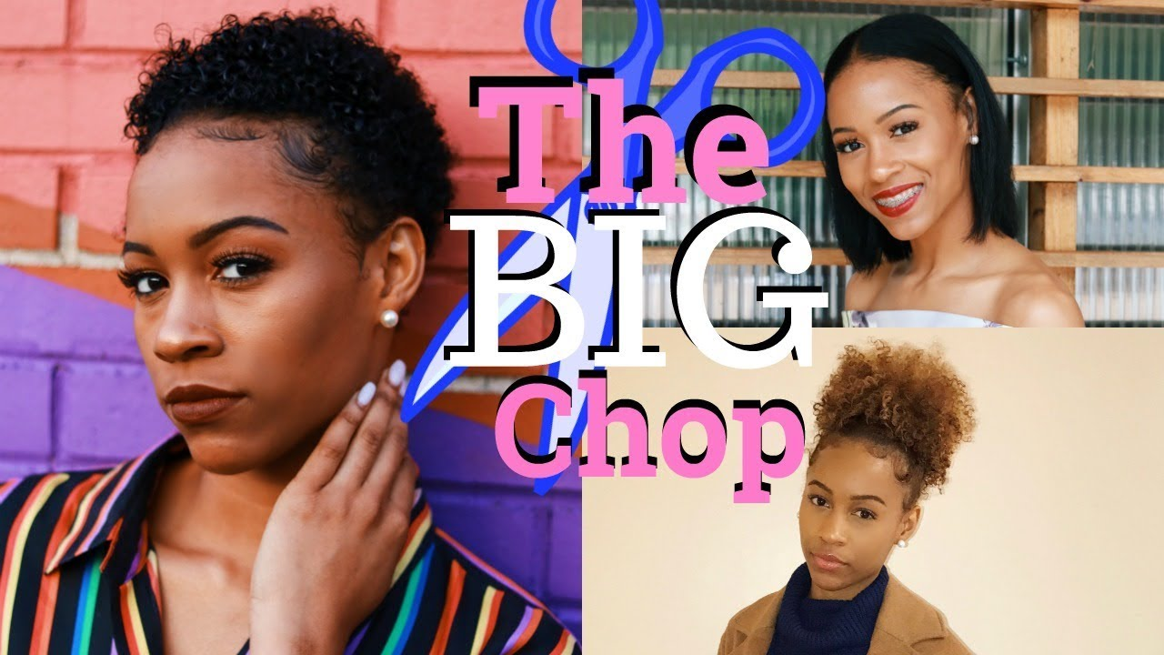 70a1afb2dc5 My Big Chop 2017 : Journey To Healthy Natural Hair || Gabrielle Morris