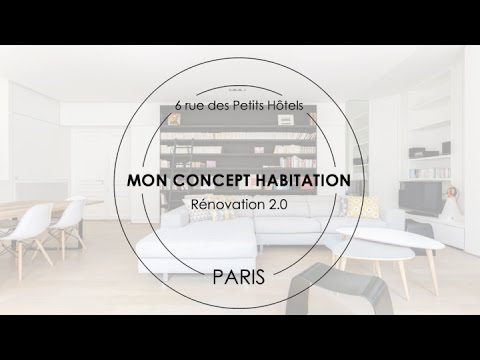 r novation lourde d 39 un appartement parisien youtube. Black Bedroom Furniture Sets. Home Design Ideas
