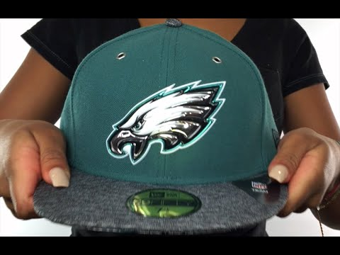 Eagles  2016 NFL DRAFT  Fitted Hat by New Era - YouTube fa7e8894ce0