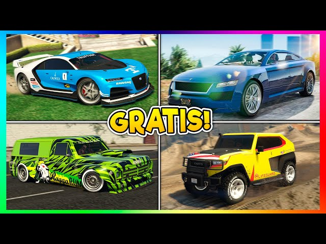 😍 5 NEUE GRATIS AUTOS IN GTA ONLINE + GIVE CARS TO FRIENDS GLITCH GEPATCHED! GTA Online News 😍