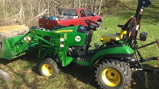 Quick review of a John Deere 1025 R