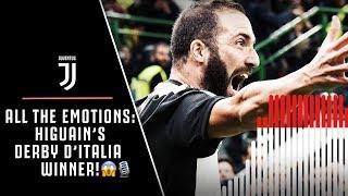 EPIC COMMENTARY! GONZALO HIGUAIN'S DERBY D'ITALIA WINNER!