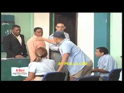 Miguel & Raymond   En La Escuela Con Nashla Y Sergio Carlos
