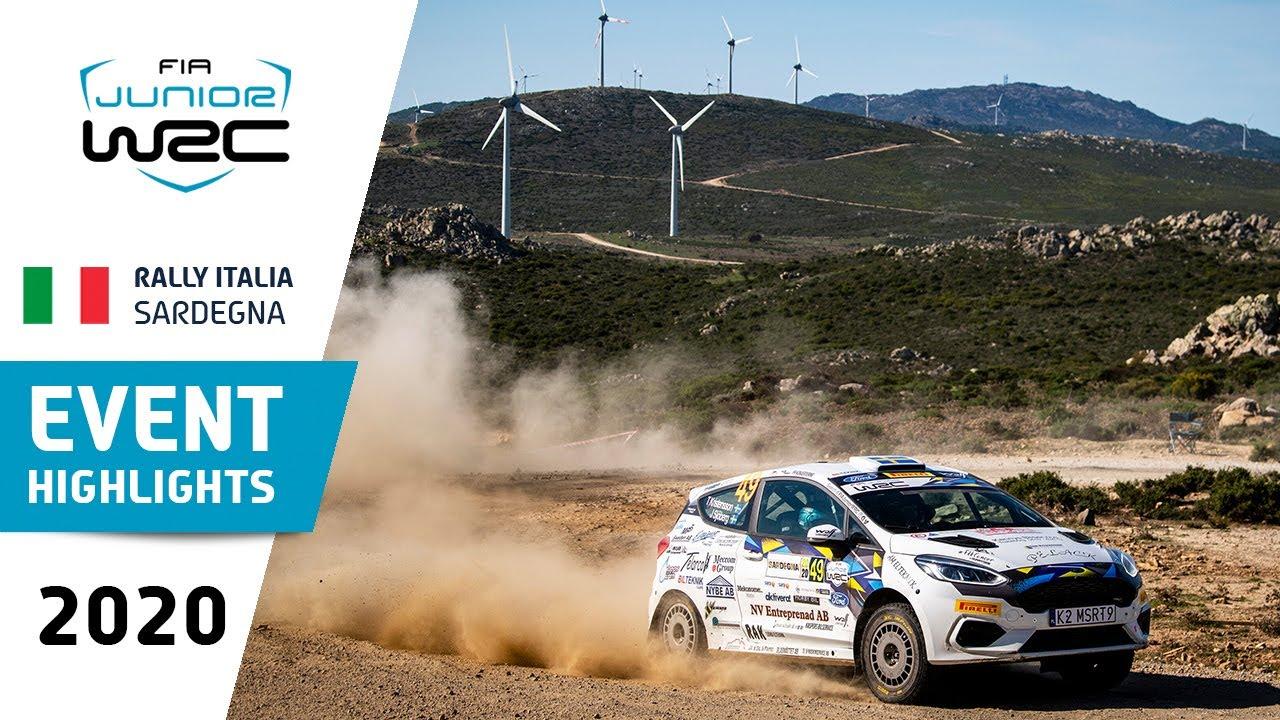 Junior WRC - Rally Italia Sardegna 2020: Event Highlights