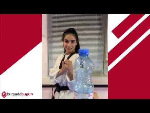 Yeni Akım! Ayakla Kapak Açma Challenge (Bottle Cap Challenge)