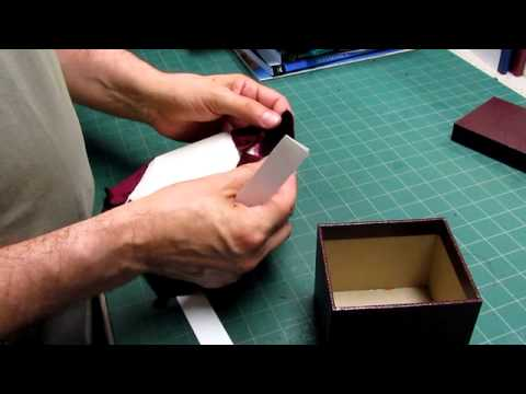 Lining a Box - Padded Velvet - Part 2 of 2