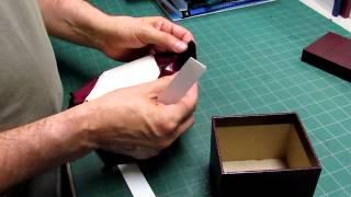 Lining a Box - Padded Velvet - Part 2 of 2