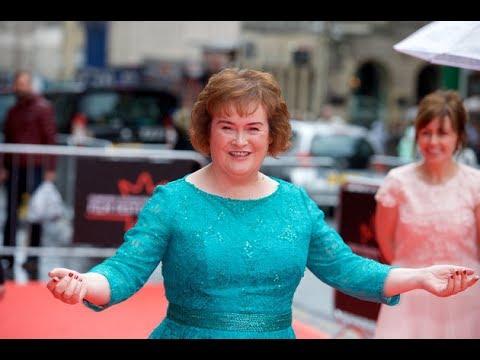 The End Of The World - Susan Boyle - Lyrics - (HD Scenic)