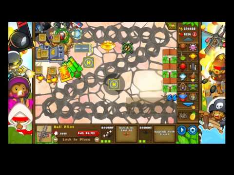 Bloons Tower Defense 5 With Shadgam!