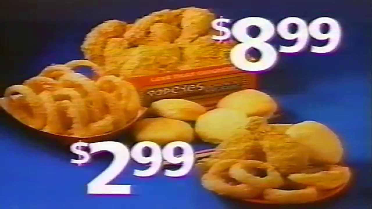 Popeyes new orleans specials