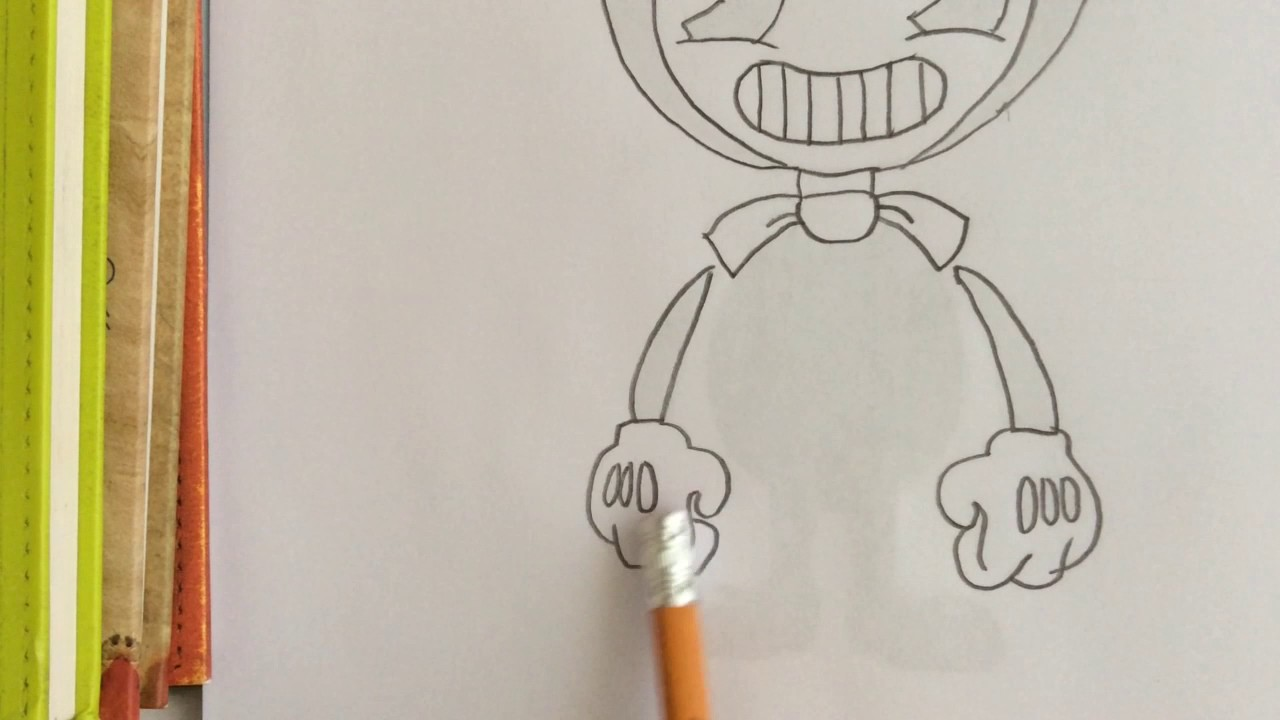 How To Draw Bendy! - YouTube