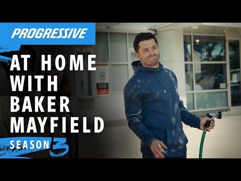 Baker Mayfield Shares Hot Goss | Progressive Insurance Commercial