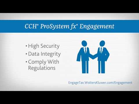 CCH® ProSystem fx® Engagement | Wolters Kluwer