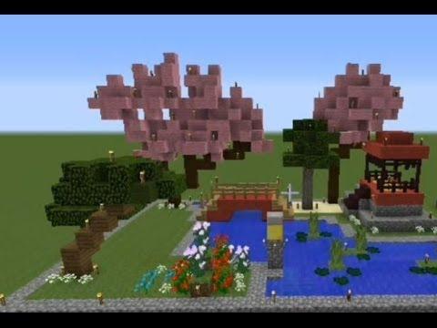minecraft japanese garden youtube - Japanese Zen Garden Minecraft