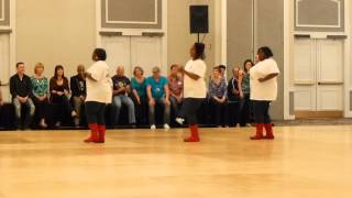 Behave Yourself Line Dance Demo @Big Bang 2014