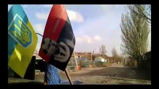 Широкино в руинах. 501 батальон 3 рота Морская пехота Доставка гуманитарки(, 2016-02-14T21:08:53.000Z)