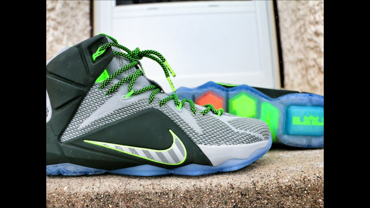 Nike LeBron XII 12 DATA - Review + On Feet - YouTube
