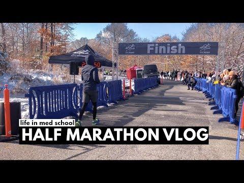 Life in Medical School: Half Marathon VLOG! | vlogmas