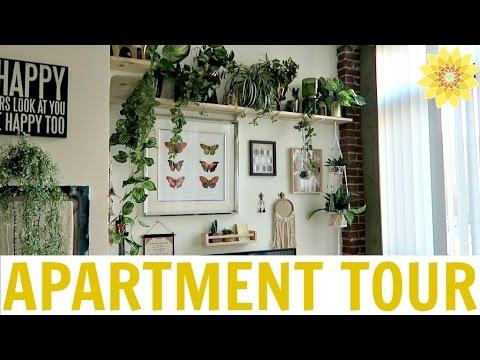 APARTMENT TOUR | MY BOHEMIAN LOFT | MEGHAN HUGHES