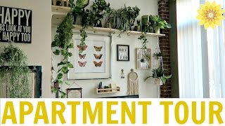 APARTMENT TOUR | MY BOHEMIAN LOFT | MEGHAN HUGHES