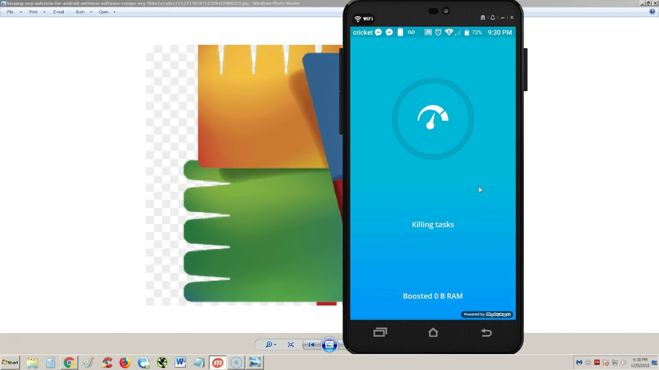 AVG AntiVirus ANDROID APP 2019 Review and Tutorial
