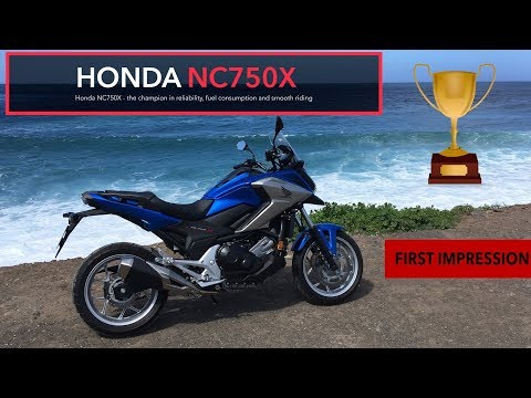 Honda NC750X - the champion in reliability, fuel consumption and smooth riding