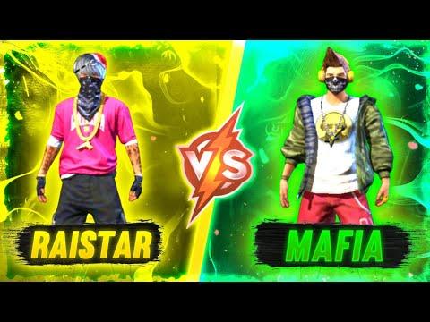RAISTAR VS ᴴᴬᴿᴰ•MAFIA Op Gameplay || Phone VS Phone || 1 vs 1 || Garena Free Fire ||
