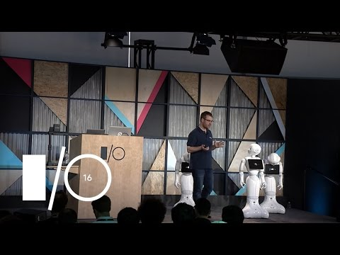 A new development frontier: Android + Pepper the interactive robot - Google I/O 2016