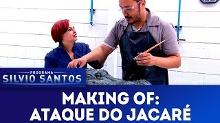 Making of: Ataque do Jacaré | Câmeras Escondidas