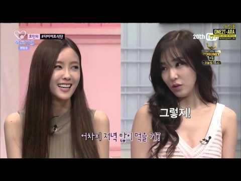 [Thaisub] 150814 Mnet Heart A Tag (Tiffany Chulwoo Hyomin) Cut - วิธีไดเอทของฮโยมิน