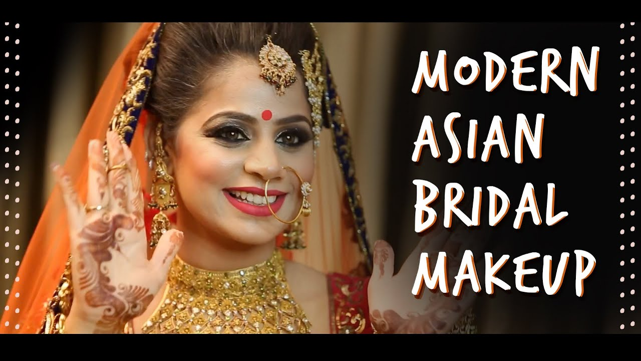 Step By Step Bridal Makeup Tutorial Indian | Trending Makeup Looks 2016 | Krushhh By Konica