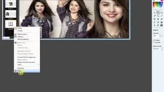 Tutorial capa para facebook Tudo Fofo (Selena Gomez)