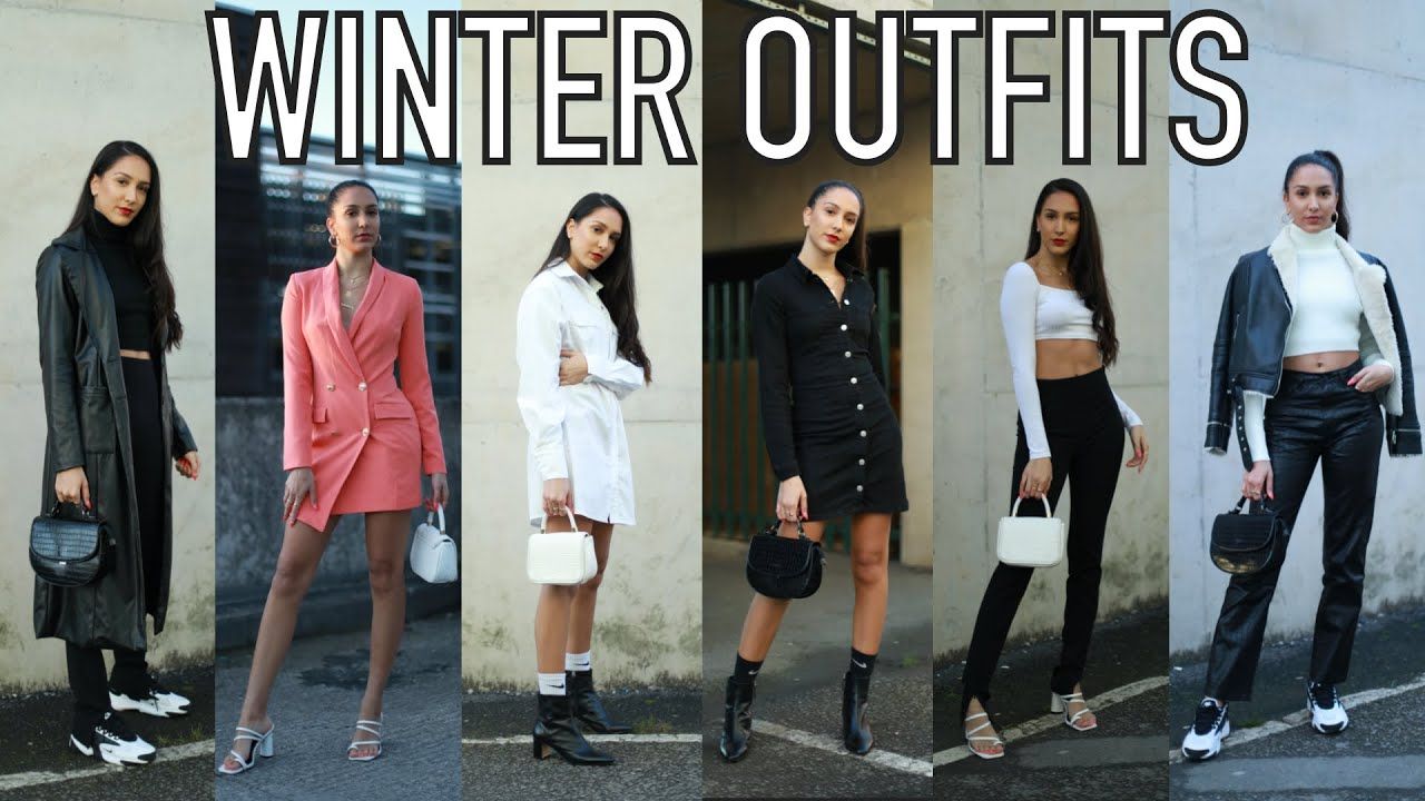 [VIDEO] - WINTER OUTFITS   CASUAL + GLAM   How I styled my recent instagram photos   Fashion with goldmoods 1