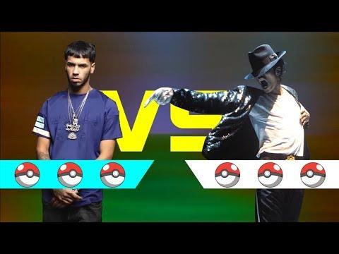 ANUEL AA Vs MICHAEL JACKSON #Ayuwoki | Batalla Pokemon 06